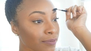 Everyday NATURAL Brows In Just A Few Steps!! | 2015 Tutorial