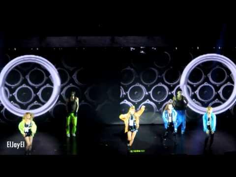 [FANCAM] 20120824 2NE1 - Don't Stop the Music   Nokia Theatre L.A. Live