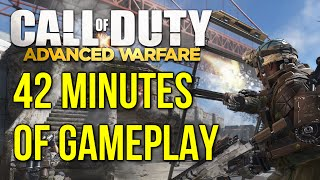 Call Of Duty: Advanced Warfare - 42 Minutes of Gameplay! (CoD Aw Multiplayer Gameplay)