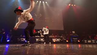 Grand Slam(RIA HIYORI) vs MR.jp(Ringo Winbee MiYU) BEST4 KIDS WDC 2018 FINAL World Dance Colosseum