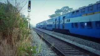 The Only Non AC Double Decker Superfast Train On Indian Railways!