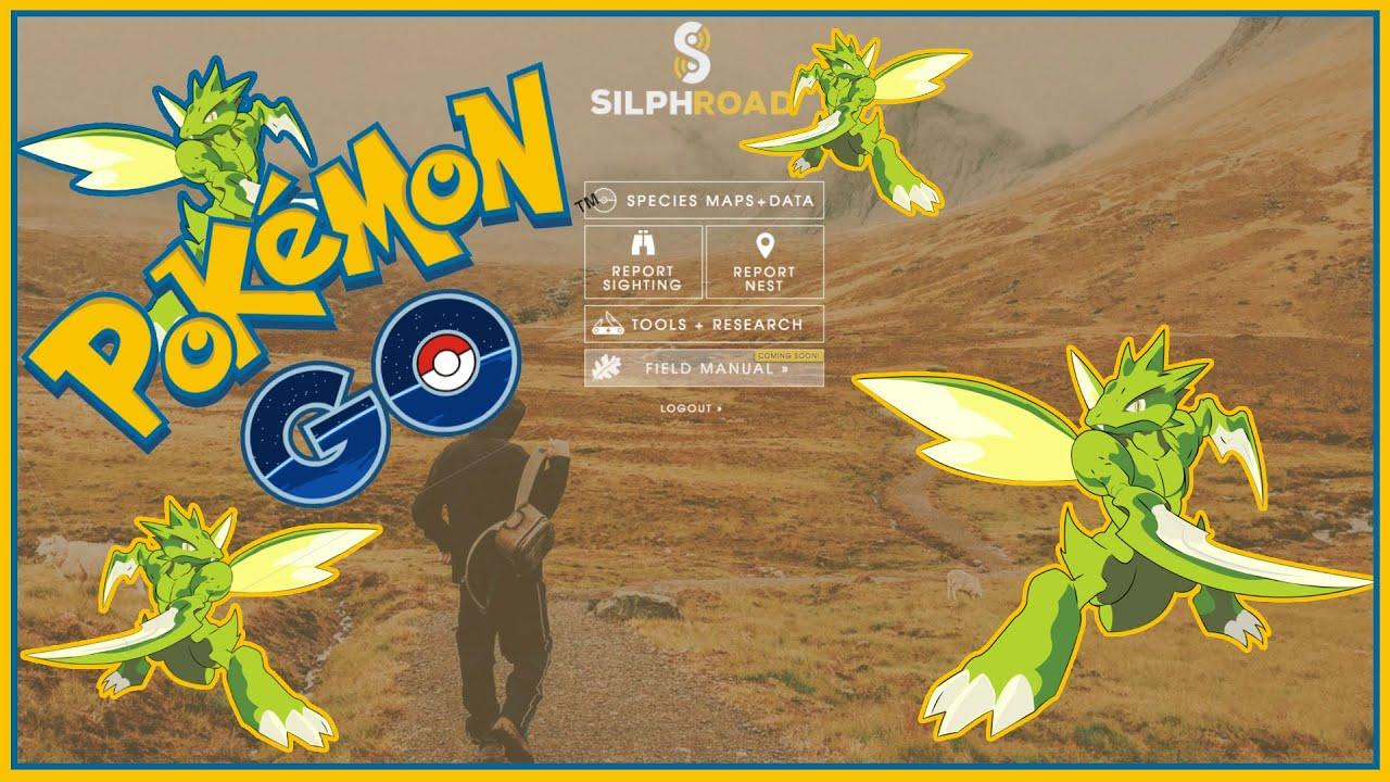 pokemon go nests the silph road nest atlas scyther nest