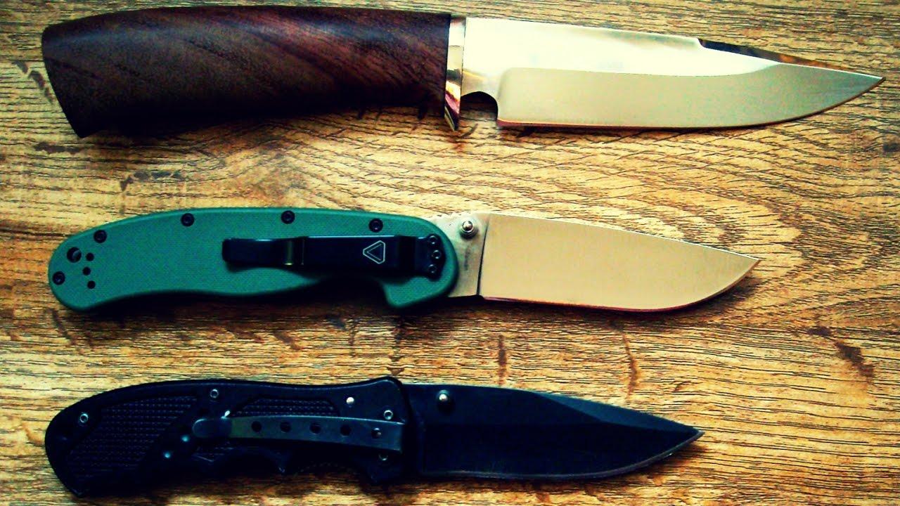 Как правильно заточить нож