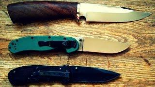 видео Как правильно заточить нож?