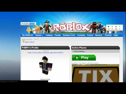 Roblox Robux and Tickets Hack 2011 - YouTube