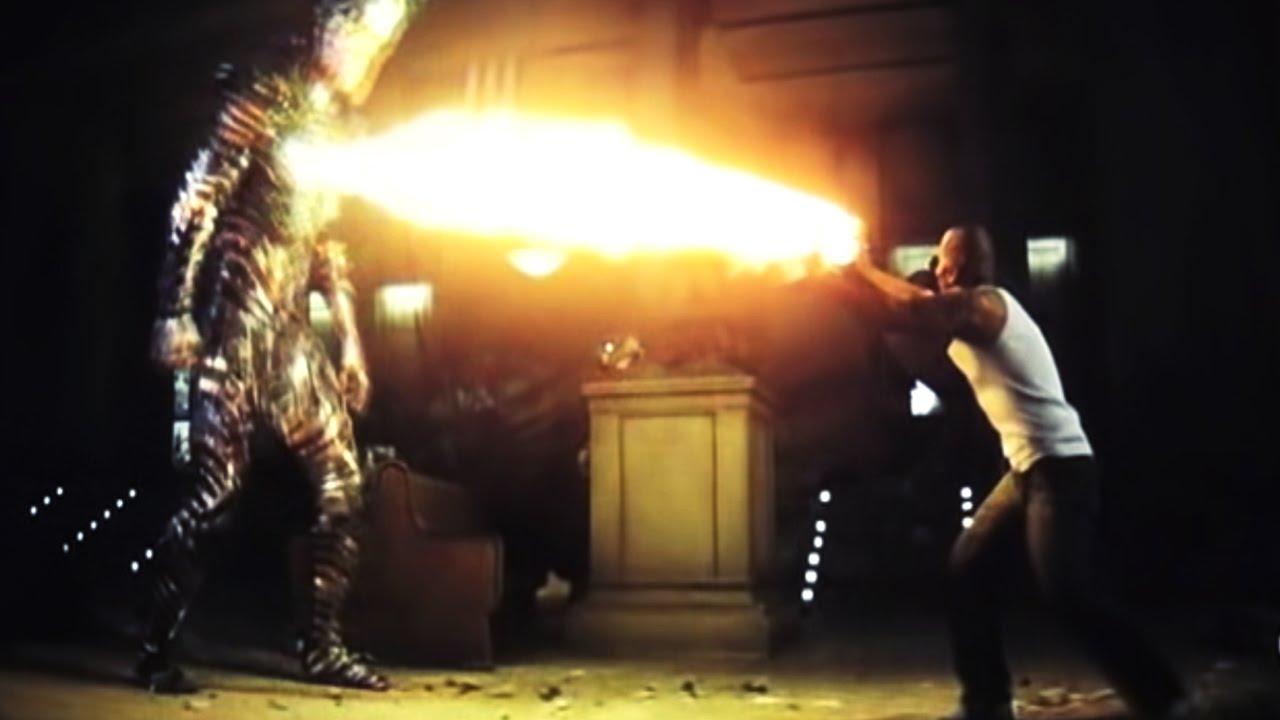 Suicide Squad - El Diablo Fight Scene (El Diablo Death) - YouTube
