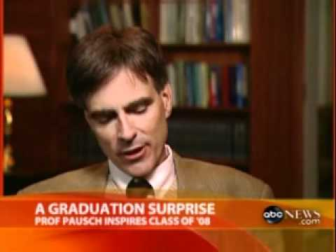 Randy Pausch on Good Morning America, May 19, 2008