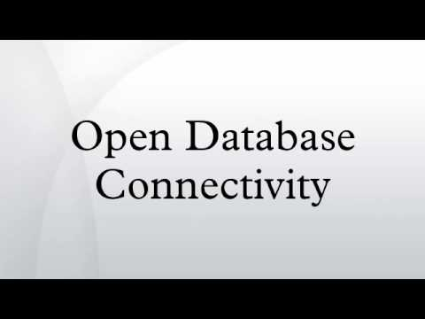 open-database-connectivity