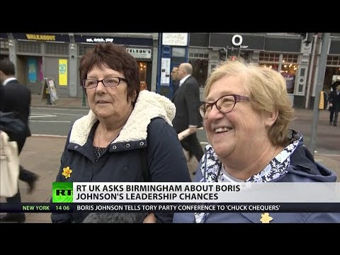 RT UK asks Brummies about BoJo's leadership chances