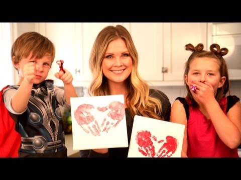 Kids Valentine's Day Crafts!!