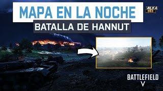 MAPA en la NOCHE BATALLA DE HANNUT BATTLEFIELD V - Nueva Gran Operacion