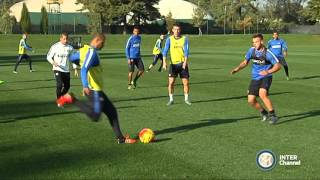 ALLENAMENTO INTER REAL AUDIO 22 10 2015