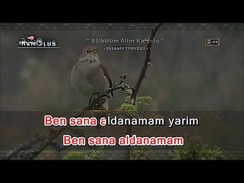 AĞLATAN TÜRKÜ - Bülbülüm Altın Kafeste KARAOKE (FULL HD Profesyonel Karaoke)