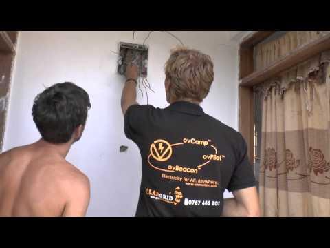 Electrifying Tanzania - 1,2 kWp Solar Home System