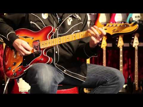 The New Fender Starcaster Played by Greg Koch  •  NAMM 2014
