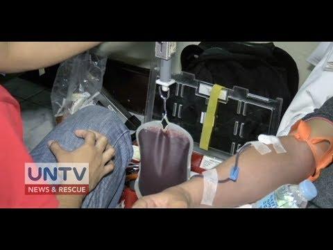 70 bag ng dugo, nalikom sa isinagawang mass bloodletting activity ng MCGI sa Pasig City