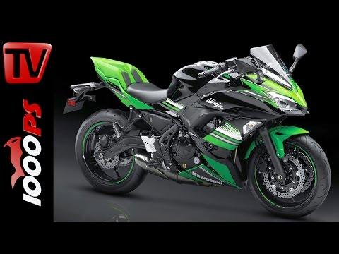 Kawasaki Ninja 650 2017 - Neuerungen, Technische Daten