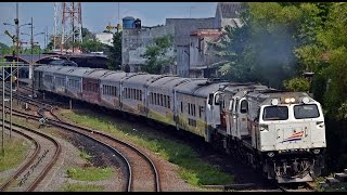 Traksi Ganda | Dua Lokomotif | Double Locomotives