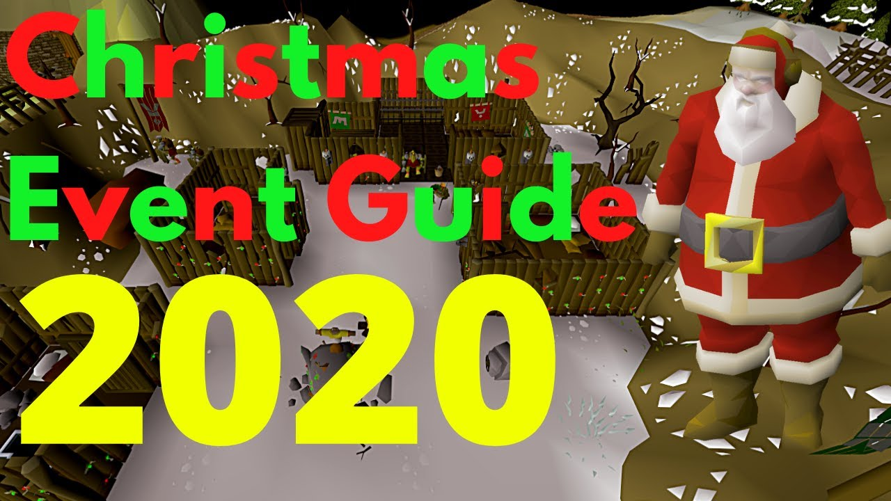 Osrs Christmas Event 2020 Guide (5 Minutes!)   YouTube
