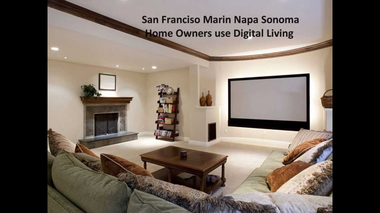 Digital Living Sonoma Napa Marin San Francisco Home Theater