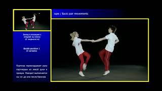 Базовые движения в паре. Учебный фильм по акробатическому рок-н-роллу