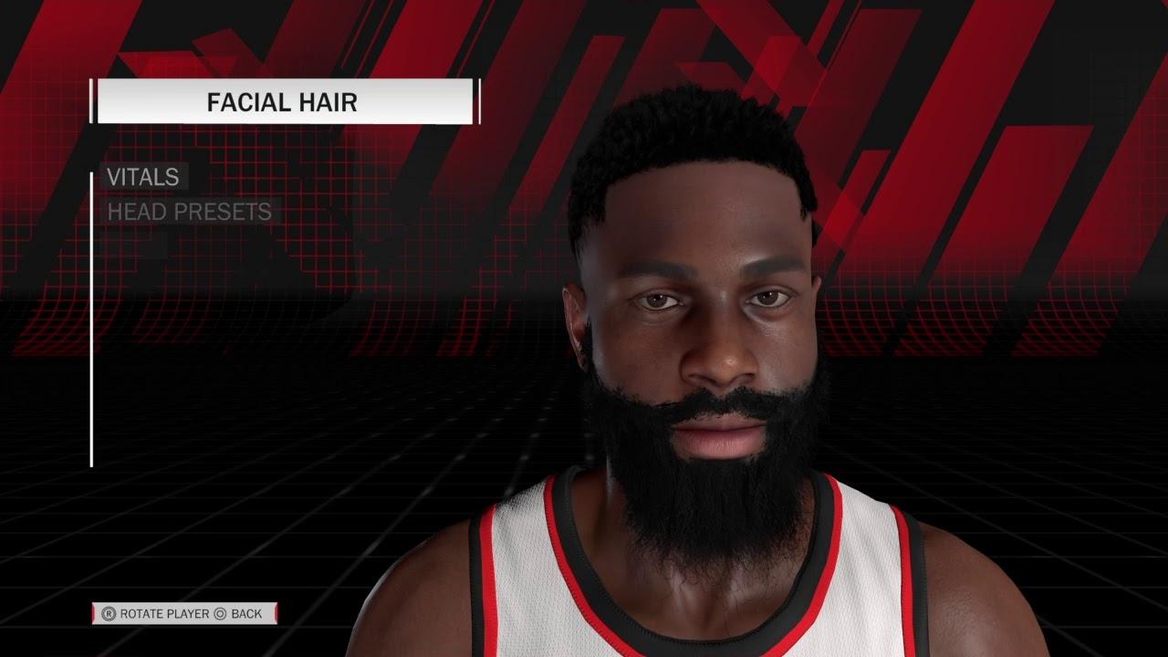 659d170e73d8 How to Make James Harden in NBA 2K18 - YouTube