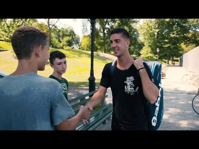 From Queens To Manhattan: Kokkinakis Visits Central Park For Unique 2019 US Open Practice Session
