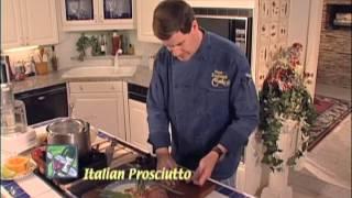 Prosciutto wrapped asparagus 210