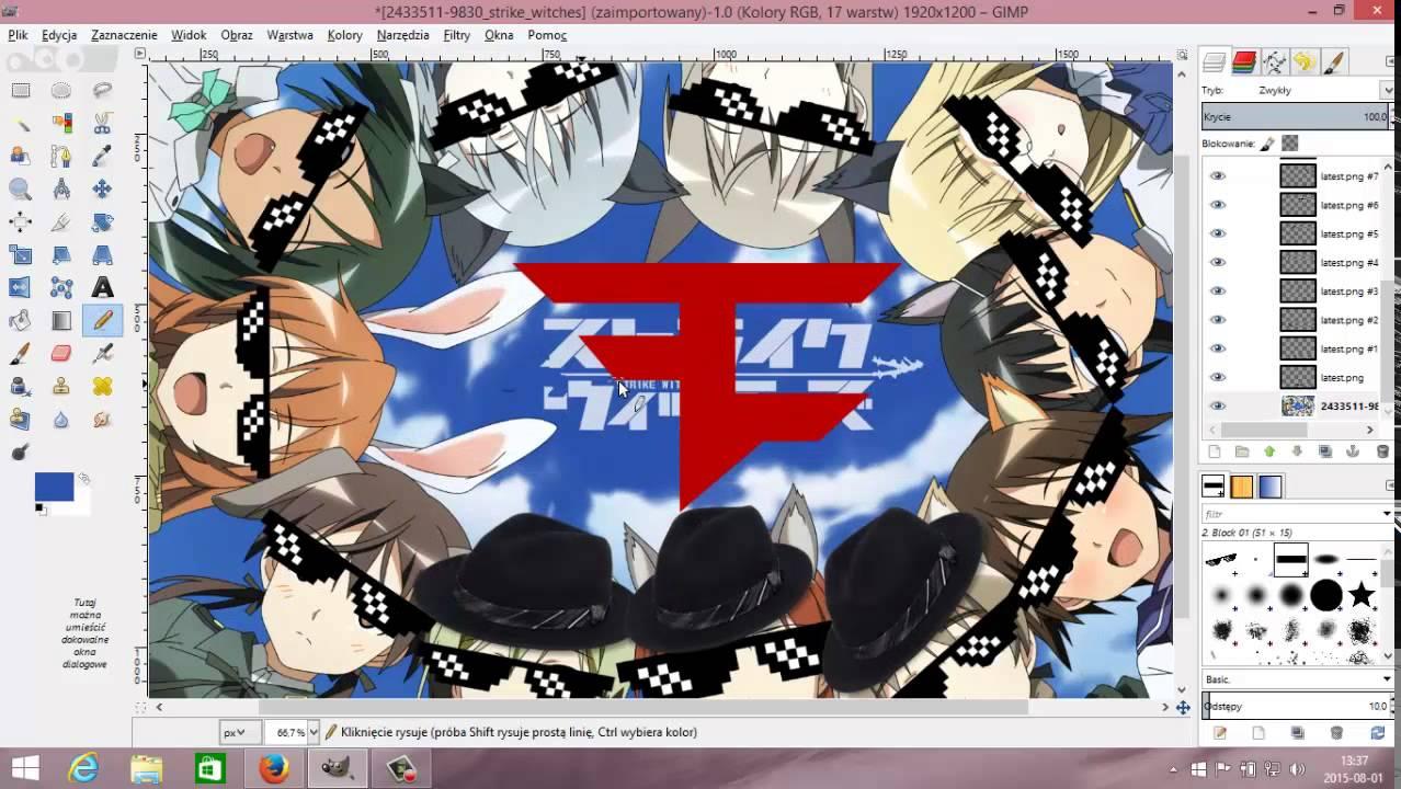 H0w 2 Make an MLG Wallpaper (GIMP