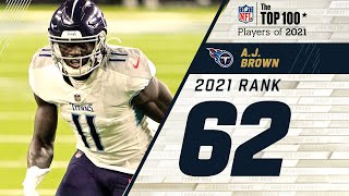#62 A.J. Brown  (WR, Titans) | Top 100 Players of 2021