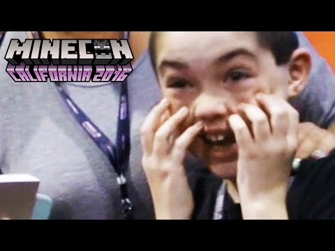 I THINK HE'S GONNA PASS OUT (Minecon 2016)