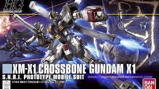 1/144 HGUC Crossbone Gundam X1 Review