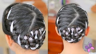 Elegant Hairstyle for Girls