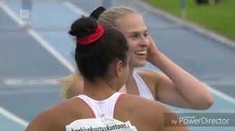 Naisten 100m Aitajuoksun Loppukilpailu - Kalevan Kisat 2019