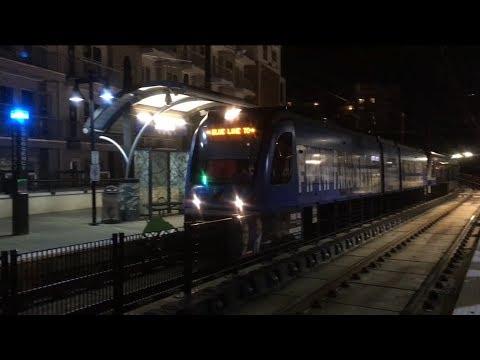 Light Rail & Uptown Charlotte 2017 Vlog #5 | MNF, Bank of America Stadium | 1080p