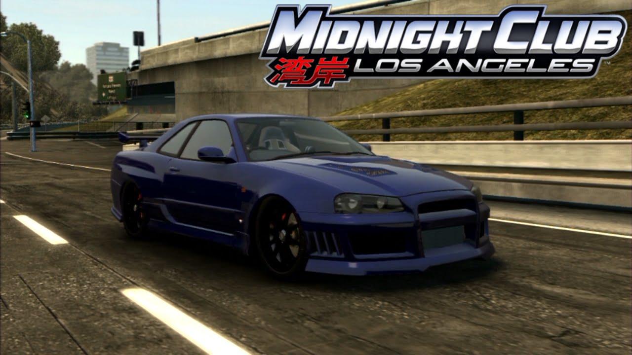 Nissan Los Angeles >> Midnight Club: Los Angeles - Nissan Skyline GT-R R34