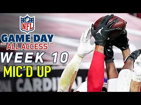 NFL Week 10 Mic'd Up! \