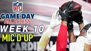 "NFL Week 10 Mic'd Up! ""I knew I was going to catch that"" 