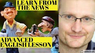 Baixar Learn advanced English - learn advanced English through a news vlog