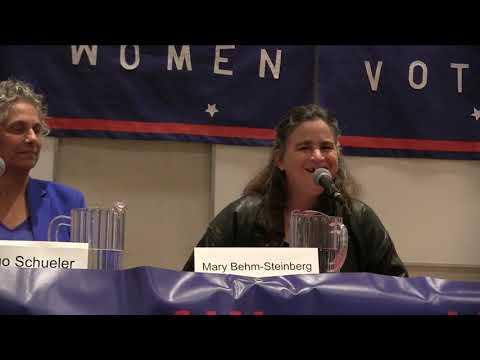 League Of Women Voters District 1 Forums 2018