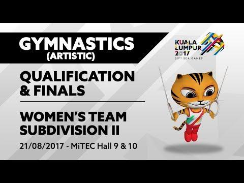 KL2017 29th SEA Games    Gymnastic (Artistic) - Women's Subdivision II QUALIFICATION & FINALS