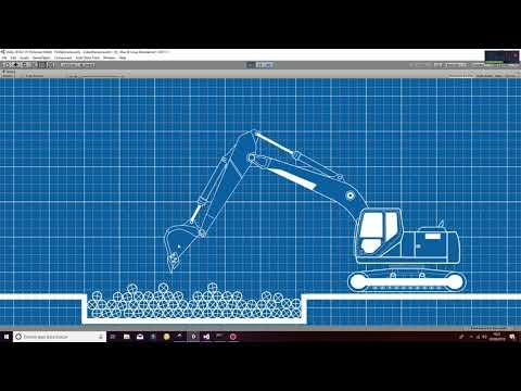 Industrial Excavator Unity3D