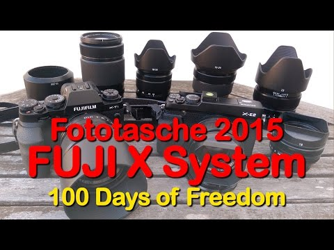 Meine Fototasche 2015 - Fuji X-T1 & Fuji X-E2 - Full HD 1080p