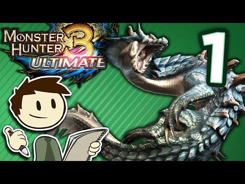 The Animation of Monster Hunter 3 Ultimate - #1 - Rathian