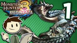 The Animation of Monster Hunter 3 Ultimate - #1 - Rathian