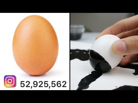 Egg Gets 46 Million Likes (World Record)