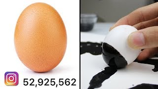 Egg Gets 52 Million Instagram Likes (World Record) - Beats Kylie Jenner