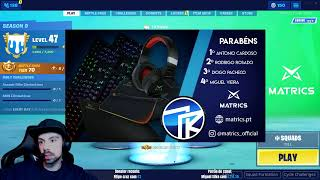 LIVESTREAM - CUSTOMS NO FORTNITE COM SUBS!!! RESULTADOS DO GIVEAWAY HOJE!!!