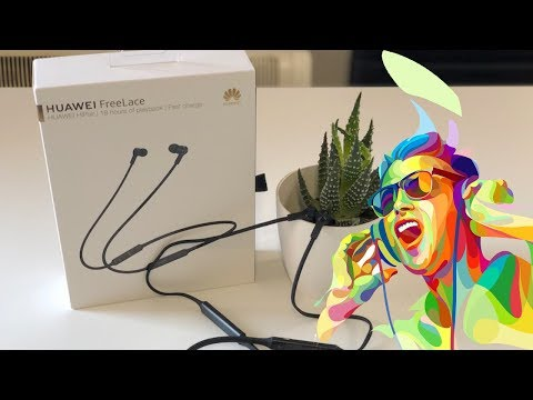 Huawei FreeLace - Unboxing Y Review