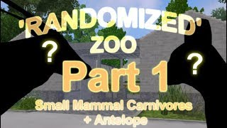 Small Carnivorous Mammals/Antelope #1 -